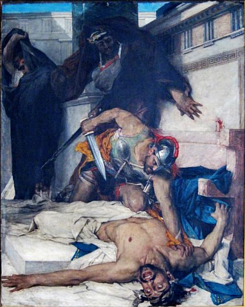 Qui est cet homme politique voulant devenir tyran de Corinthe, il est assassiné par son propre frère ?