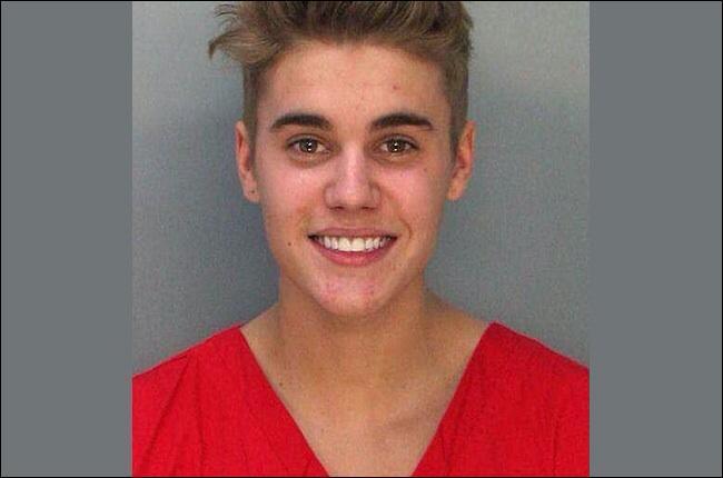 Pourquoi Justin s'est-t-il fait arrêter par la police ?