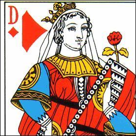 Quel est le prénom de la dame de carreau dans un jeu de cartes français ?