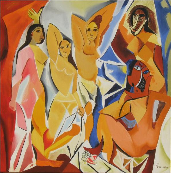"""Quel peintre cubiste a réalisé """"Les demoiselles d'Avignon"""" en 1907 ?"""