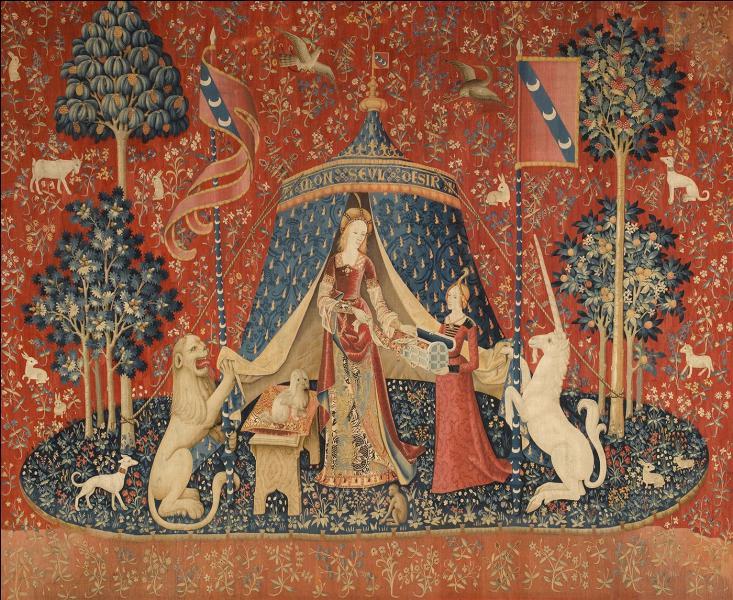 """Si vous êtes à Paris et que vous voulez admirer """"La Dame à la licorne"""", célèbre tapisserie du Moyen-Age, dans quel musée irez-vous ?"""