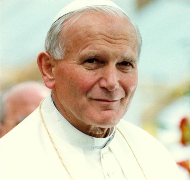Qui était le pape de 1978 à 2005 ?