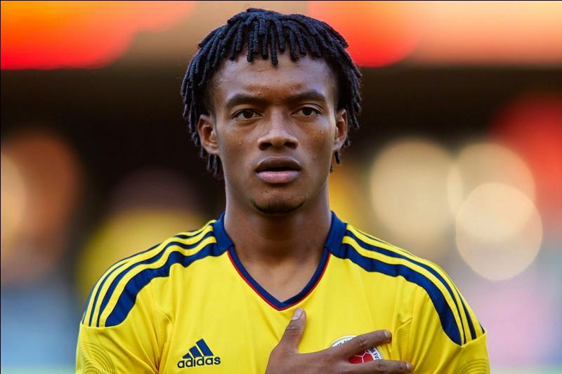Jeune joueur de la Colombie, mon nom est :