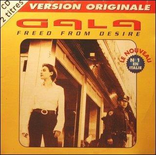 Gala atteint la première place en 1996 avec 'Freed from desire'. Quelle autre de ses chansons a réussi cet exploit?
