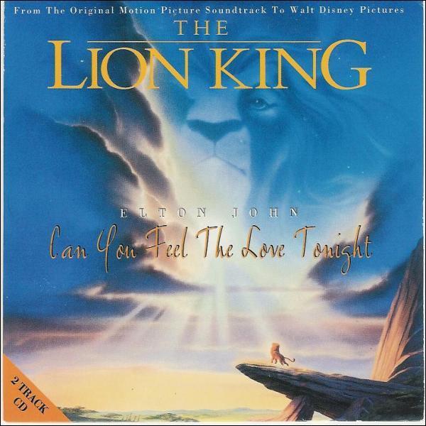 Qui est l'interprète de la chanson du Roi Lion en 1994?