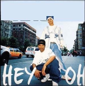 Quel est le nom du groupe qui chante 'Hey Oh' en 2003?