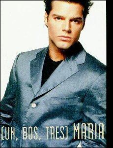 Qui est ce beau brun latino, interprète de 'Maria' en 1995?