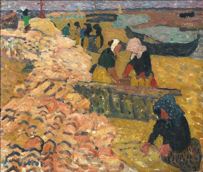Qui a peint Les trieuses d'huîtres à Arcachon ?