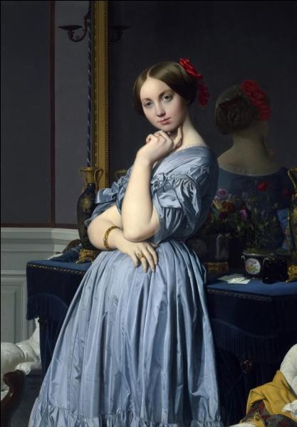 Qui a peint La comtesse d'Haussonville ?