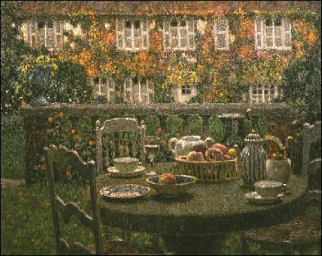 Qui a peint La table d'automne ?