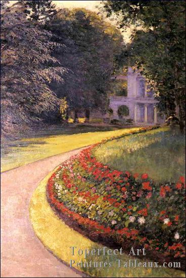 Qui a peint Le parc à Yerres ? ?