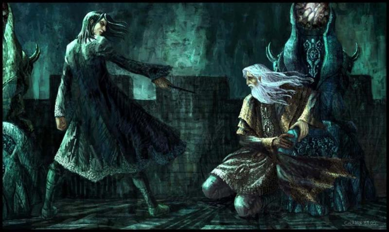 """De quel tome est extraite cette citation ? """"Bien sûr que Dumbledore vous fait confiance, rugit Maugrey. C'est un homme confiant. Il croit qu'on peut donner une deuxième chance à tout le monde. Mais moi, je dis qu'il y a des taches qui ne s'effacent pas, Rogue. Et qui ne s'effaceront jamais, vous voyez ce que je veux dire ?"""""""