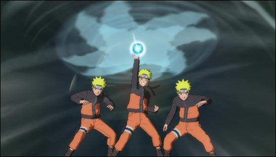 Dans la VO, la technique ultime de Naruto se dit : Fûton, Rasen-Shuriken.