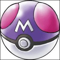 La Master Ball est unique dans tous les jeux 'Pokémon'.
