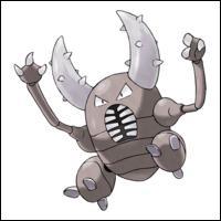 Dans 'Pokémon Version Perle', Scarabrute se trouve où ?