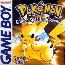 Dans 'Pokémon Jaune', comme votre starter est Pikachu et celui de votre rival est Évoli, en quoi votre rival fait-il évoluer son Évoli ?