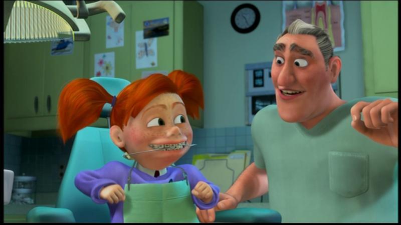 Qui sont ces deux personnages, pas méchants mais maladroits : l'un, croyant agir pour le bien des poissons qu'il retient enfermés dans un bocal, les emprisonne ; l'autre les tue en secouant trop fort les sacs plastique qui les renferment ? Dans quel film d'animation se trouvent-ils ?