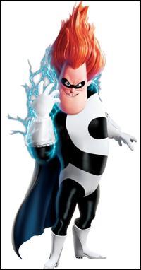 Quel est le nom de méchant de cet homme dont le vrai nom est Buddy Pine ? De quel film d'animation est-il tiré ?