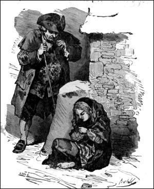 1845. Elle s'évade, imagine un monde merveilleux pour oublier la misère d'un quotidien glacial et malheureux, en brûlant ses allumettes !
