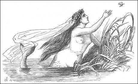 1835. Dès qu'elle atteint l'âge de quinze ans, elle peut nager jusqu'à la surface et observer le monde des humains !
