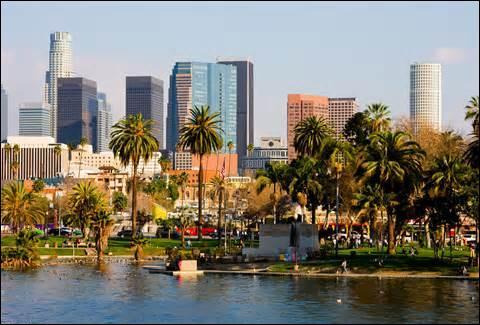 Parmi les problèmes que l'on rencontre à Los Angeles, citez-en quelques-uns.