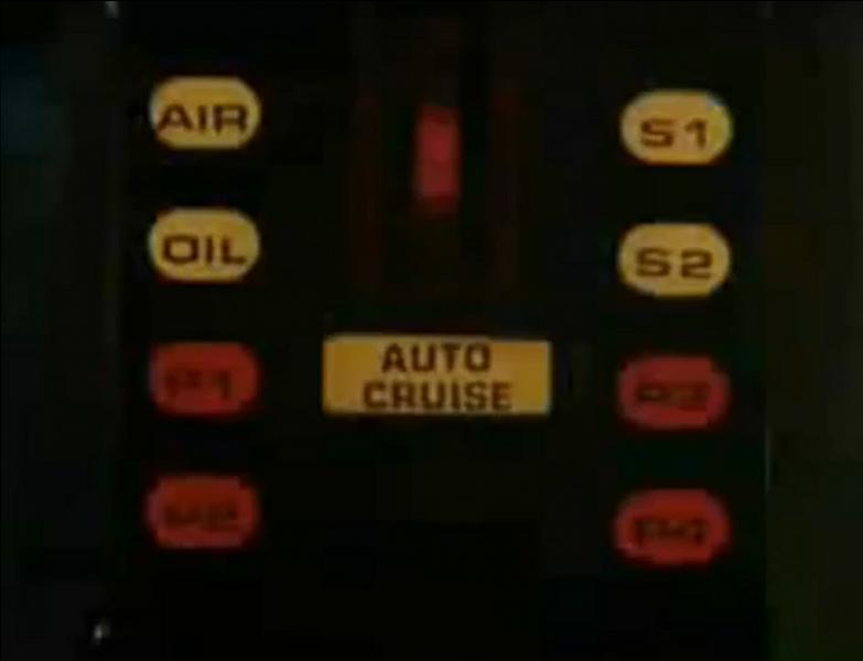 Arrêt sur image pendant ce générique à grande vitesse ! Dans quelle série voit-on ce tableau de bord inoubliable ?