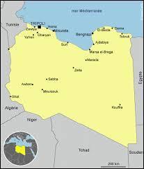 De quelles couleurs est le drapeau de la Lybie ?