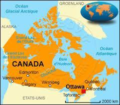 Que trouve-t-on au centre du drapeau canadien ?