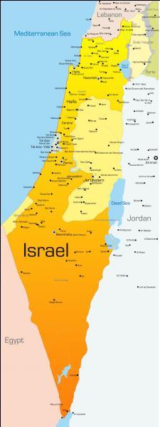 Que trouve-t-on sur le drapeau de l'Israël ?