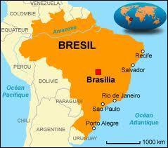 Qu'est-il écrit sur le drapeau du Brésil ?