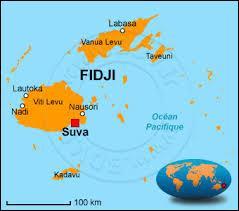 Quelle couleur occupe la majeure partie du drapeau fidjien ?