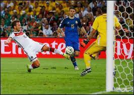 Qui a marqué le but décisif de la finale 2014 ? (score final 1-0, à la 113 e minute)
