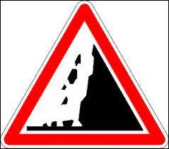 Que signifie ce panneau qui signale un danger ?