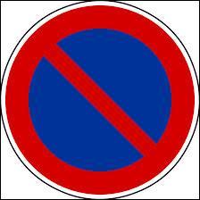 Qu'est-ce que ce panneau d'interdiction signifie ?