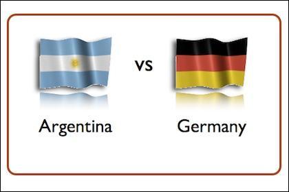 Le match de la finale Allemagne-Argentine s'est clôturé sur un score de :