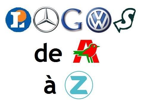 L'alphabet des logos - Niveau 1