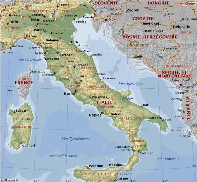 Tout comme la France est divisée en départements, l'Italie est divisée en différentes régions. Mais combien y en a-t-il ?