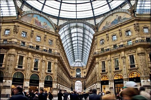Dans quelle ville se trouve la Galleria Vittorio Emanuele ll ?