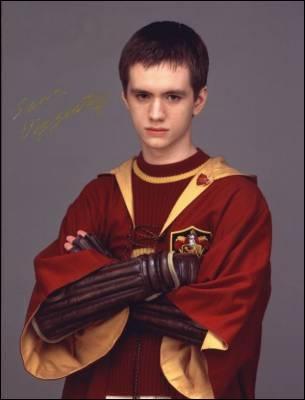 Dans Harry Potter 1, qui est le capitaine de l'équipe ?