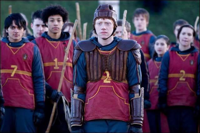 Dans Harry Potter 6, qui est le capitaine de l'équipe ?