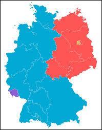 La République démocratique allemande était située à l'ouest. Est-ce vrai ou faux ?