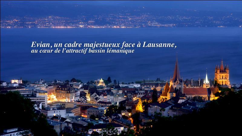 Haute-Savoie. Lac Léman. Ville thermale, source Cachat !