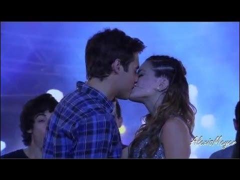 Au dernier épisode Violetta va embrasser ?