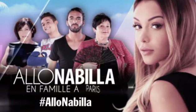 Allô Nabilla, en famille à Paris