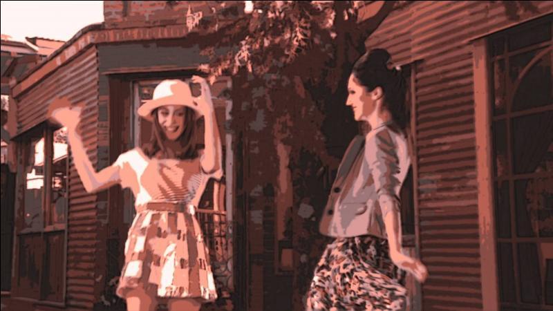 Francesca a écrit une chanson qu'elle chante avec Violetta, comment s'appelle-t-elle ?