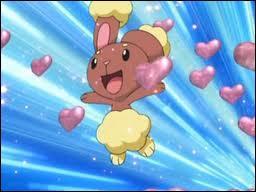 Duquel des Pokémon de Sacha le Laporeille d'Aurore tombe-t-il amoureux pendant sa première rencontre avec le Pokégroupe sachant que ce Laporeille est une femelle ?