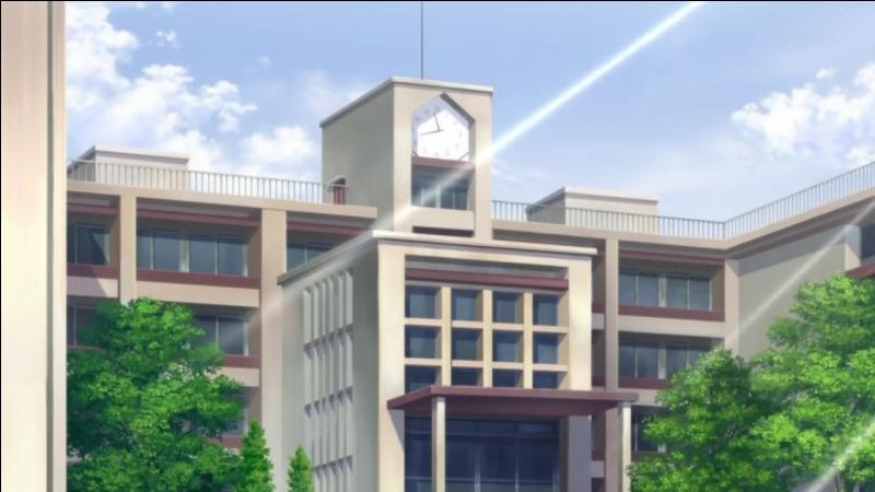 Dans quels mangas y a-t-il un lycée/collège ?