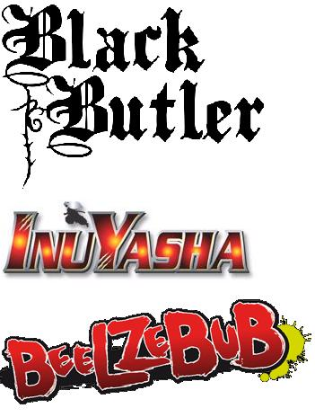 Black Butler, InuYasha ou Beelzebub ?