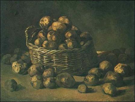 Quelles sont les pommes de terre qui ont une peau et une chair de couleur violette ?