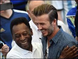 David Beckham et Pelé étaient dans les tribunes pendant la coupe du monde :